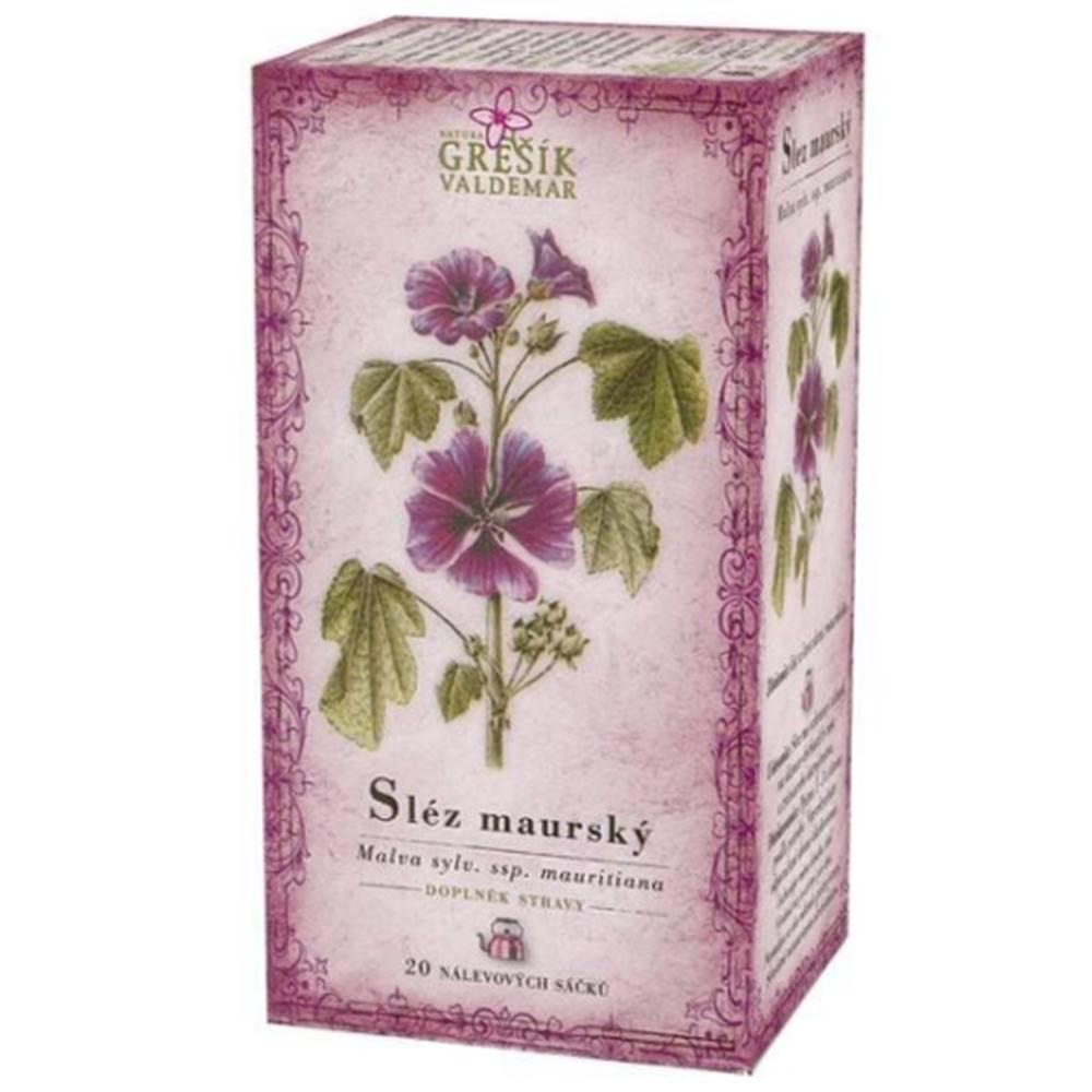 Grešík GREŠÍK Slez maurský bylinný čaj 20 x 1 g