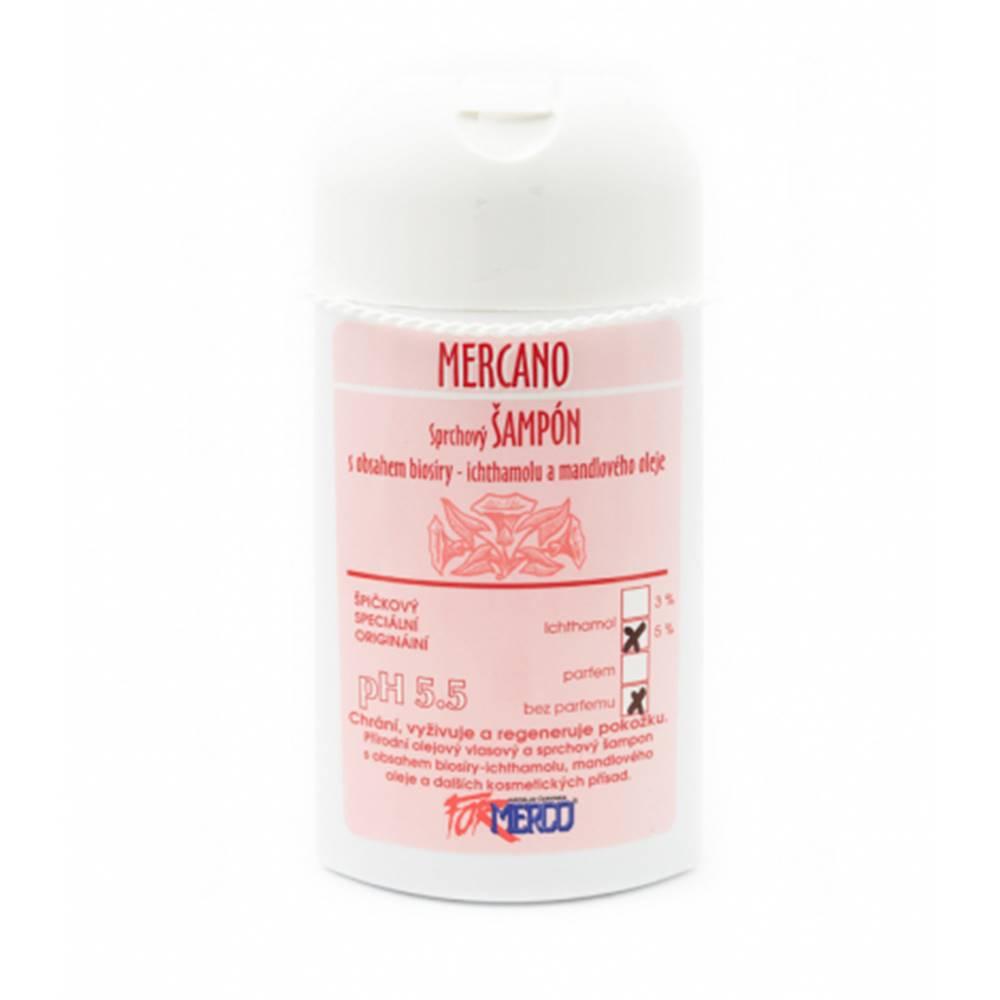 inPHARM spol. s r.o. Mercano sprchový šampón s 5% ichtamolom 250 ml