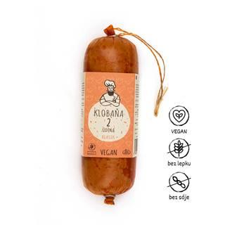 Klobaňa 2 údená klasik prirodzene bezlepková – vegan, 250 g