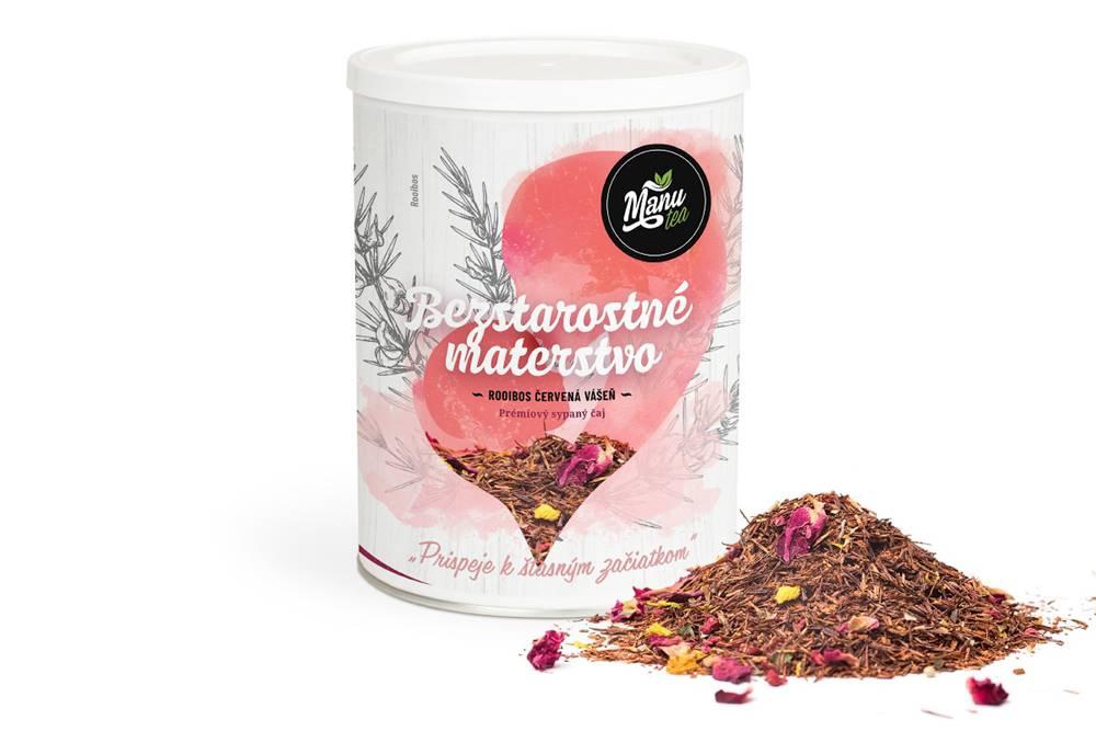 Manu tea BEZSTAROSTNÉ MATERSTVO - bylinný čaj 240g