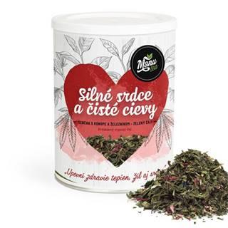 SILNÉ SRDCE A ČISTÉ CIEVY - zelený čaj 150g