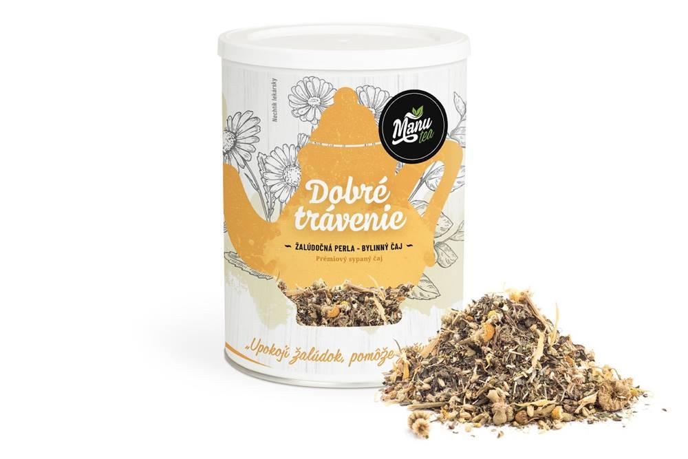 Manu tea DOBRÉ TRÁVENIE - bylinný čaj 120g