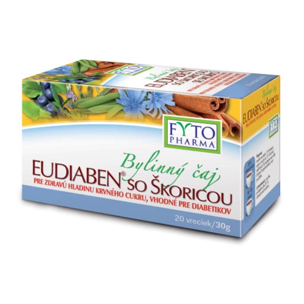 FYTO FYTO Bylinný čaj eudiaben so škoricou 20 x 1,5g