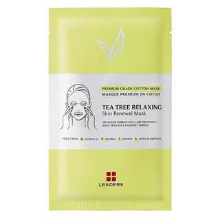 Leaders Maska Tea Tree na upokojenie pleti 25 ml