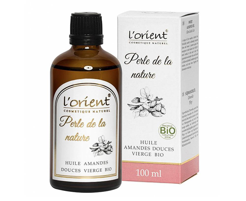 L´Orient Cosmetique Naturel L 'Orient Bio mandľový olej 100 ml