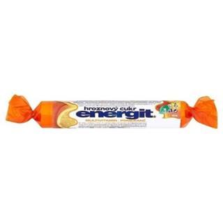 ENERGIT Hroznový cukor multivitamín, pomaranč 17 tabliet