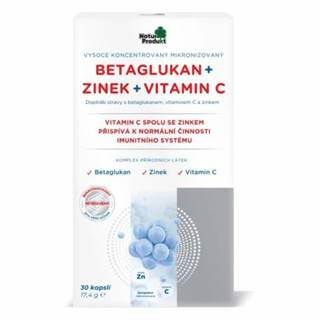 NATUR PRODUKT Betaglukan + zinok + vitamín C 30 kapsúl