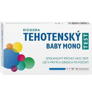 Biogema Test tehotenský BABY mono 1ks