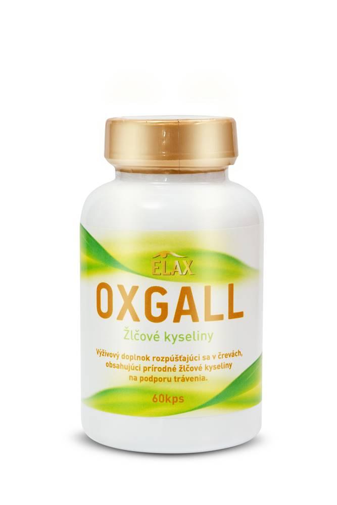 Elax OXGALL žlčové kyseliny 60kps