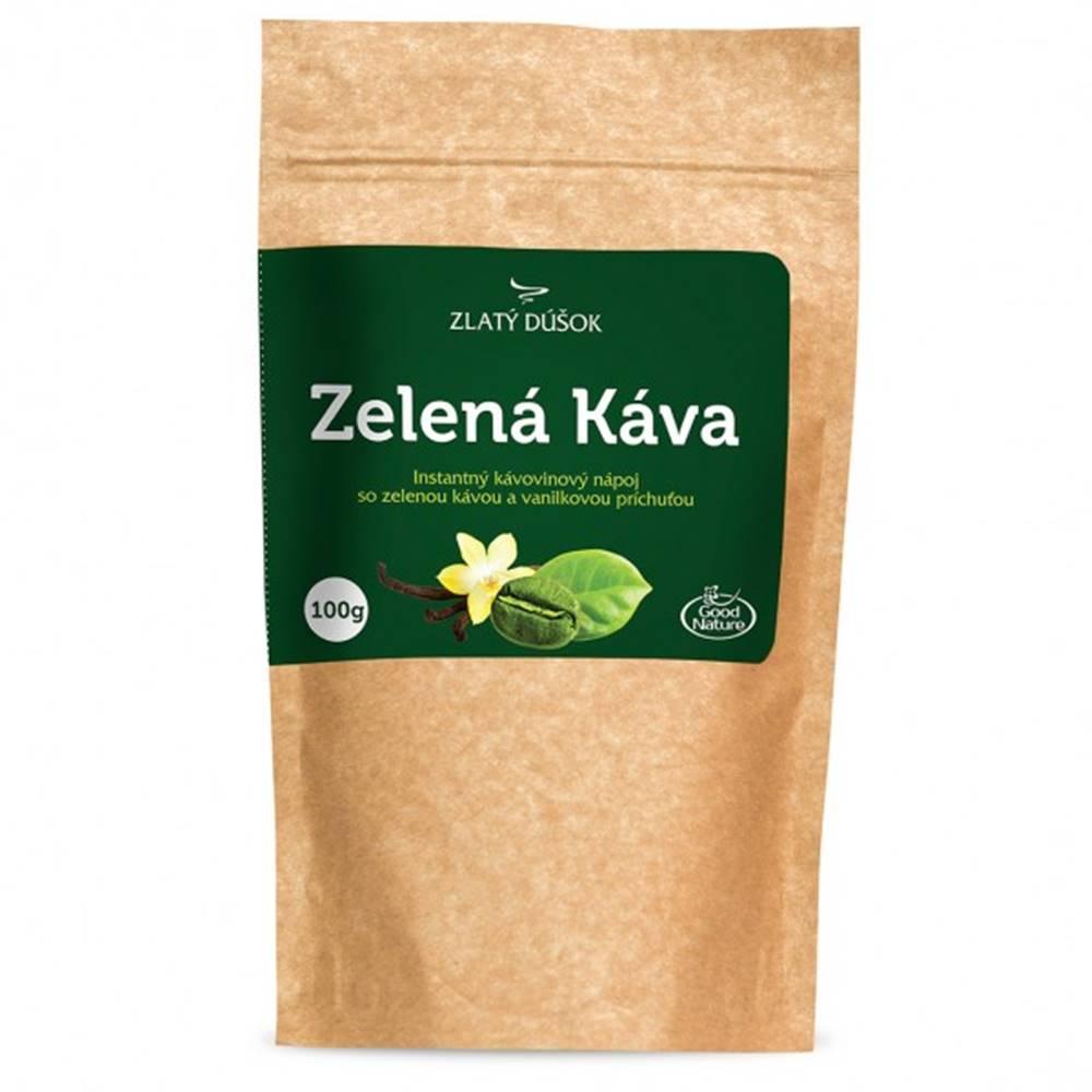 Good Nature Zlatý dúšok - Zelená káva s vanilkou 100 g