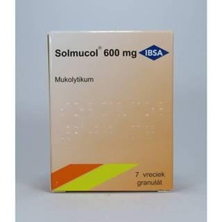 Solmucol 600 mg granulát 7 sáčkov