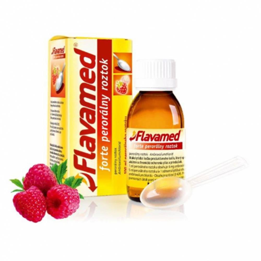Flavamed forte perorálny roztok 100 ml