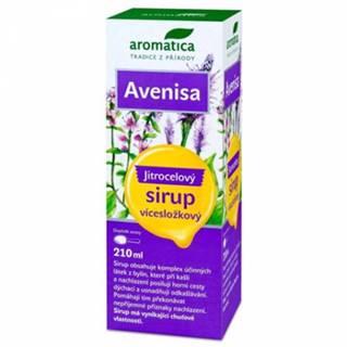 AROMATICA AVENISA Skorocelový sirup 210 ml