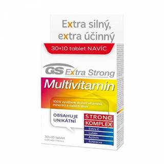 GS Extra Strong Multivitamín 30 + 10 tbl
