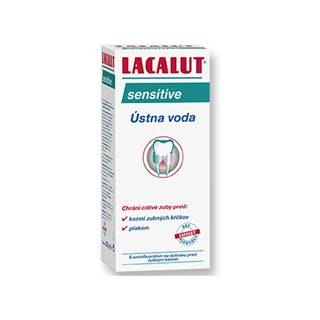 Lacalut sensitive ústna voda 300 ml