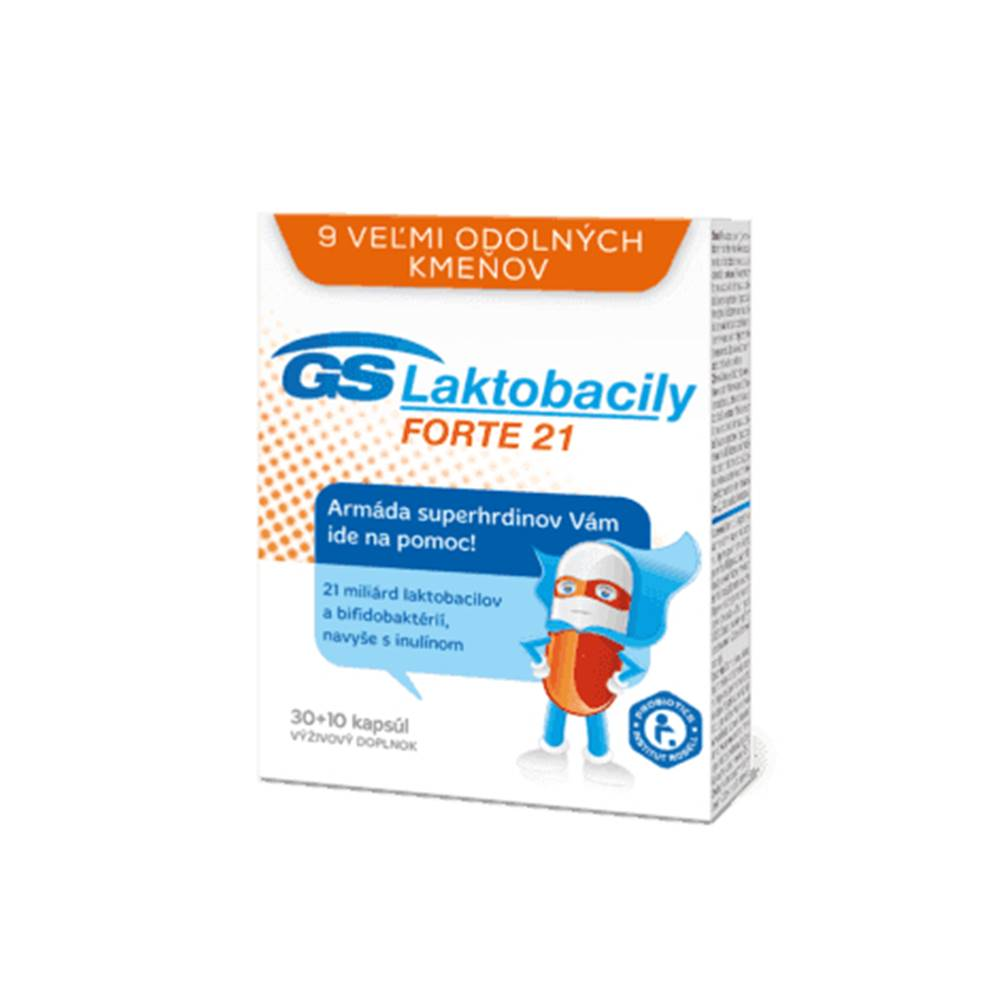 GS  Superky Probiotika 30 + 10 cps