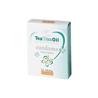 Dr. Müller Tea Tree oil kondómy 3 ks