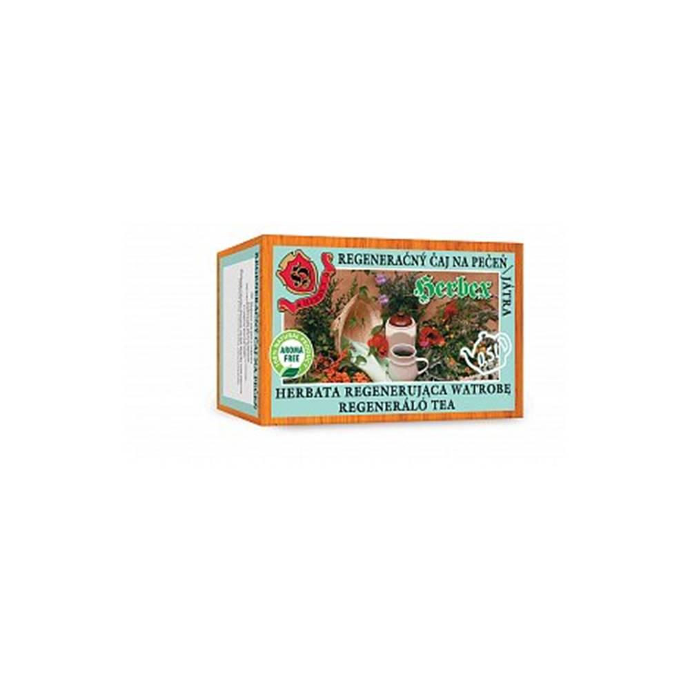 Herbex Regeneračný čaj na pečeň porciovaný 20x3g