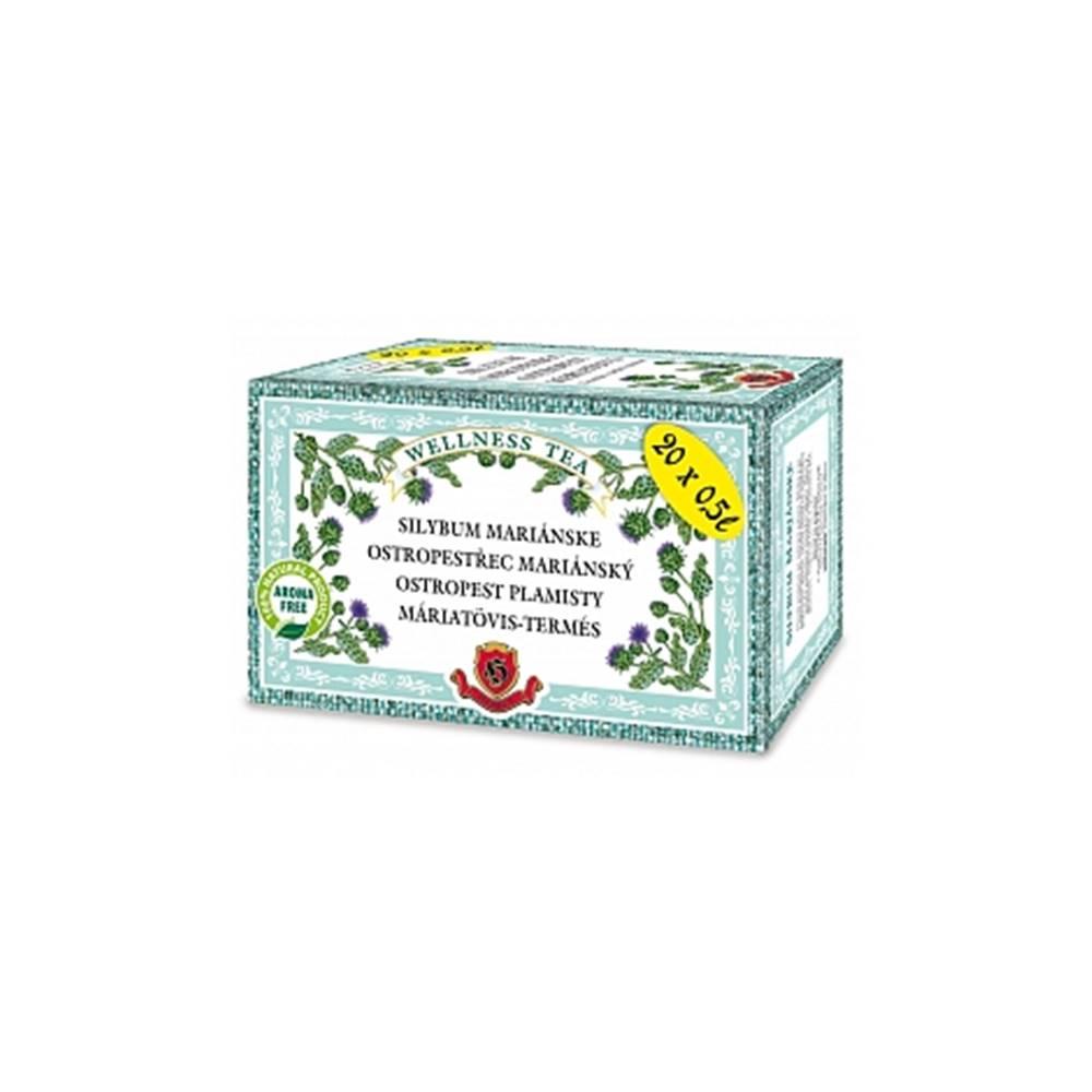 Herbex Silybum mariánske porciovaný čaj 20x3g