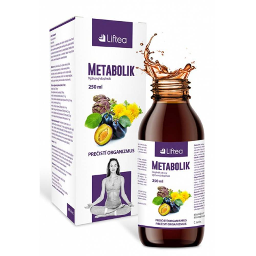 Liftea Metabolik roztok 250 ml