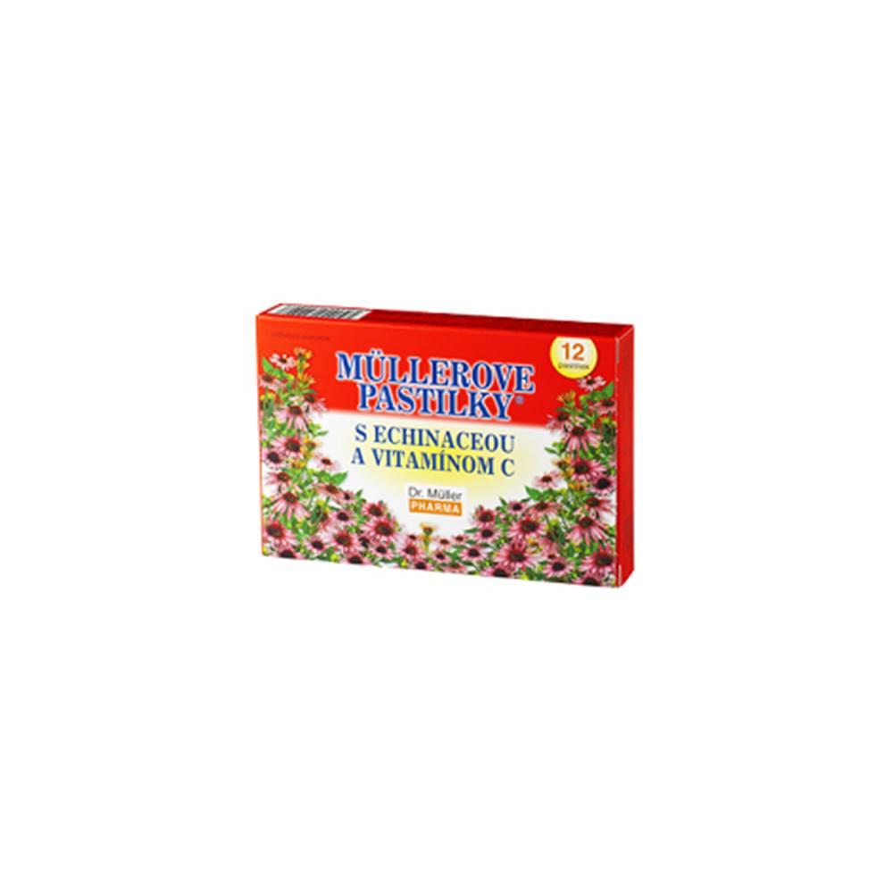 Müllerove pastilky s Echinaceou a vitamínom C 24 pastiliek