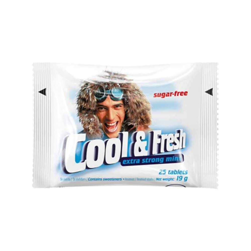 Vitar Cool & Fresh extra strong mentol 25 pastiliek