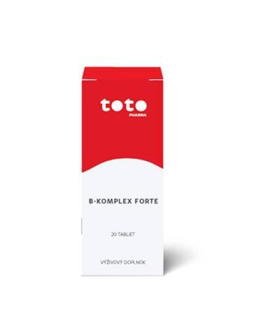 TOTO B-komplex forte 20 tbl