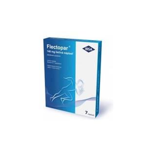 Flectopar 140 mg liečivá náplasť 7 ks