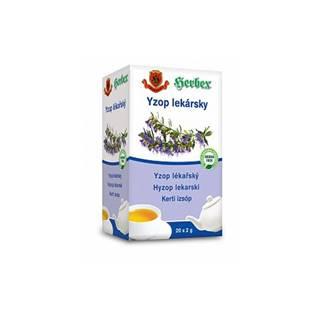 Herbex Yzop lekársky porciovaný čaj 20x2 g