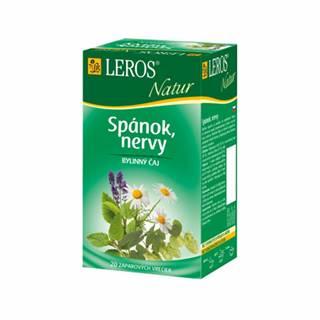 LEROS NATUR Spánok, nervy porcovaný čaj 20x1,3g