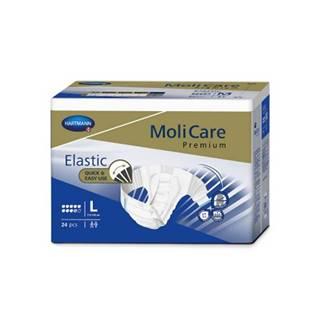 MoliCare Premium Elastic 9 kvapiek L plienkové nohavičky zalepovacie 24 ks