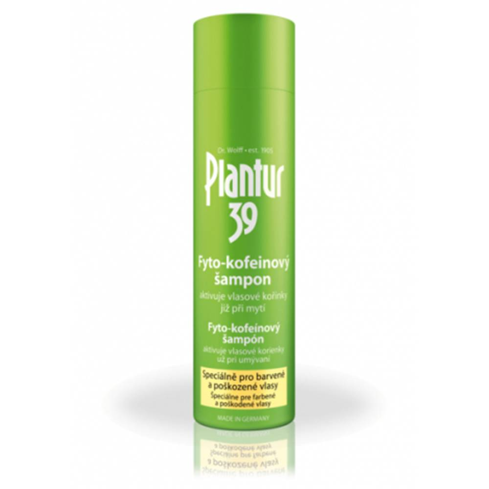 Plantur 39 Fyto-kofeinový šampón pre farbené vlasy 250 ml