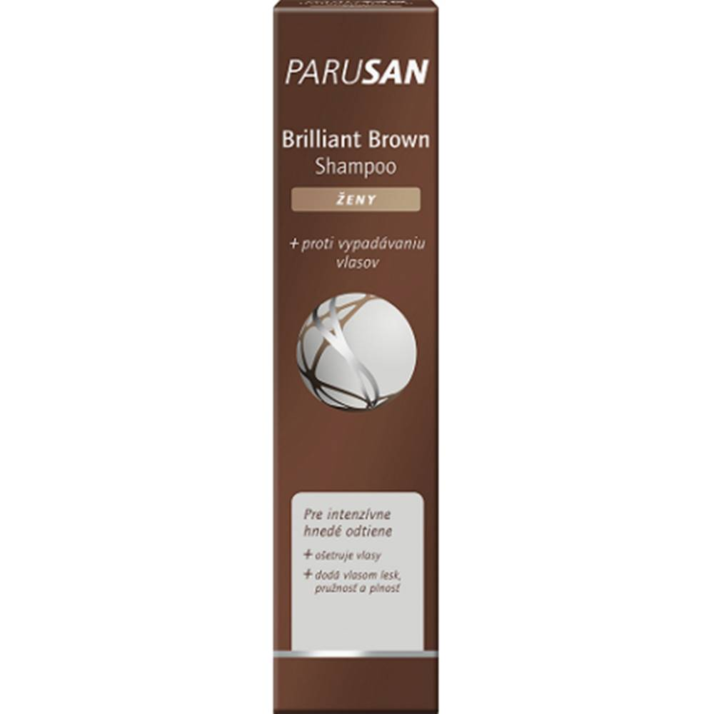 Parusan Brilliant Brown šampón pre ženy 200 ml