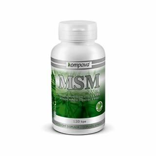 KOMPAVA MSM Výživa pre kĺby a pleť 120 cps