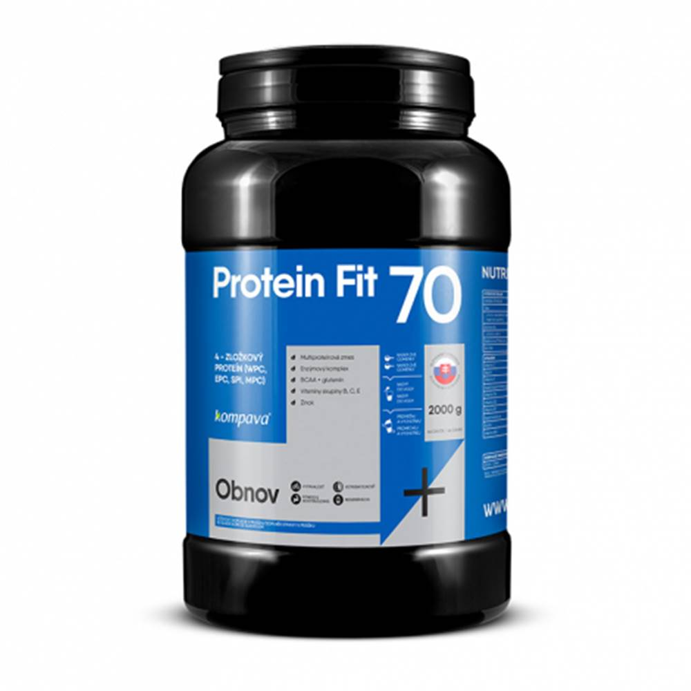 KOMPAVA ProteinFit 70 cappuccino 66 dávok
