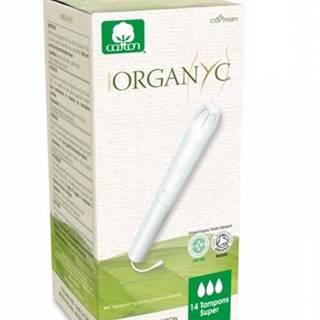 Organyc bio menštruačné tampóny Super s aplikátorom