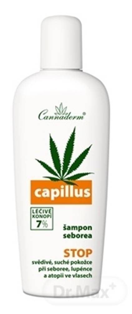 Cannaderm Cannaderm Capillus šampón seborea