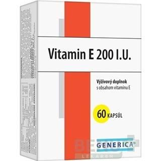 GENERICA Vitamin E 200 I.U. cps 60