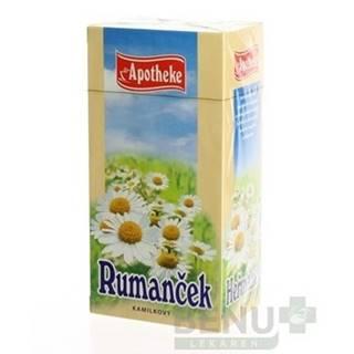 APOTHEKE Čaj rumanček kamilkový 20 x 1,5 g