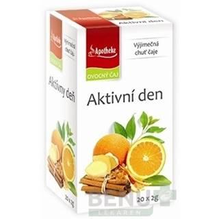 APOTHEKE Premier selection čaj aktívny deň 20 x 2g