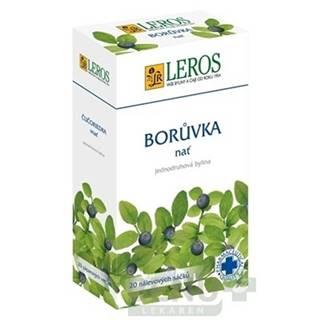 LEROS Čučoriedková vňať 20 x 1,5 g