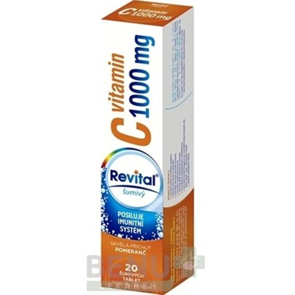 Revital Revital vitamín C 1000 mg šumivý tbl eff 20