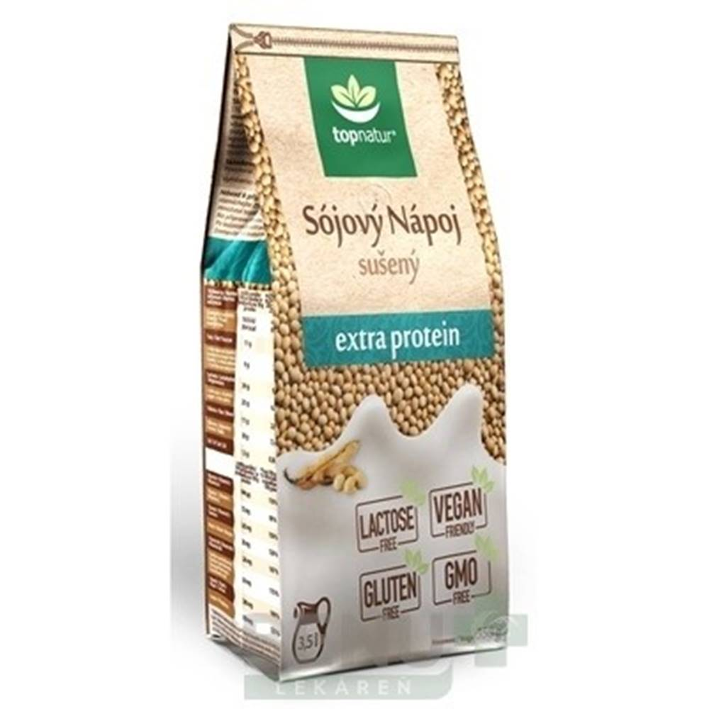 Topnatur TOPNATUR Sojový nápoj extra proteín 350 g