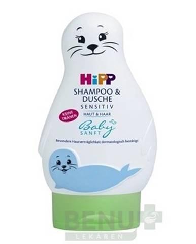 HiPP BabySanft šampón na telo a vlasy 200 ml