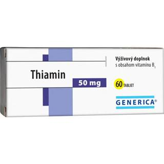 GENERICA Thiamin 50 mg tbl 60