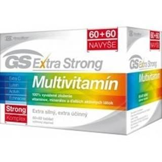 GS Extra strong multivitamín 60 + 60 tabliet ZADARMO