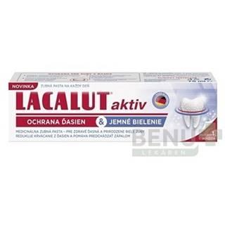 LACALUT Aktiv zubná pasta ochrana ďasien a bielenie 75 ml