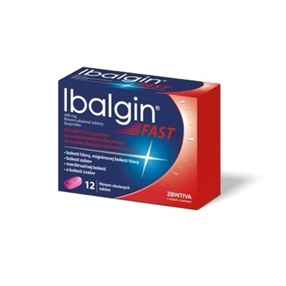 IBALGIN IBALGIN Fast 400 mg 12 tabliet