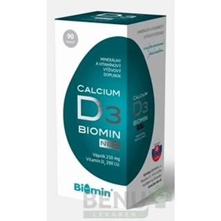 BIOMIN Calcium neo s vitamínom D3 90 tabliet