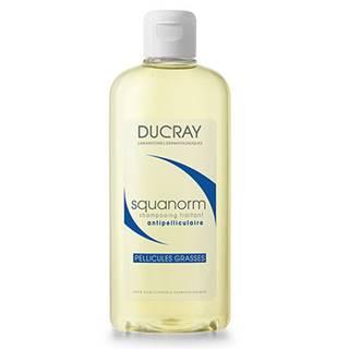 DUCRAY Squanorm šampón proti mastným lupinám s dlhotrvajúcim účinkom 200 ml